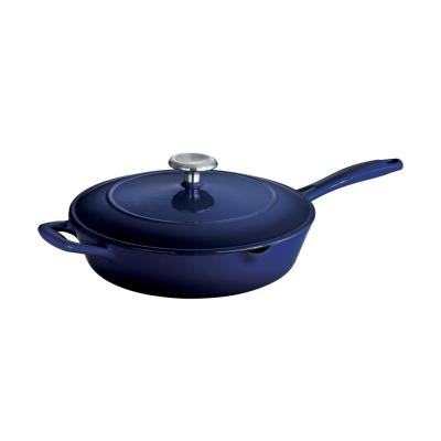 Gourmet Cast Iron Skillet with Lid