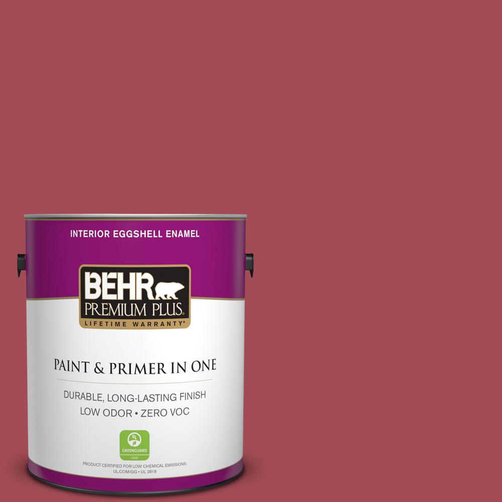 1 gal. #HDC-FL15-02 Cranberry Jam Zero VOC Eggshell Enamel Interior Paint