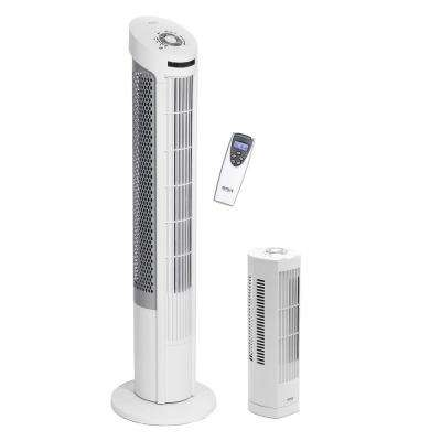 UltraSlimline 40 in. and 17 in. Oscillating Tower Fan Combo Pack