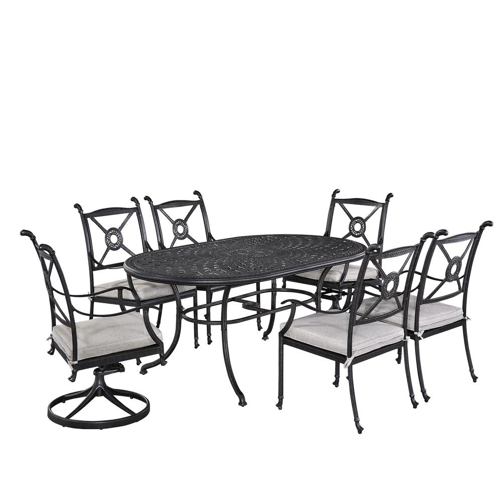 Home Styles Athens 7 Piece Patio Dining Set
