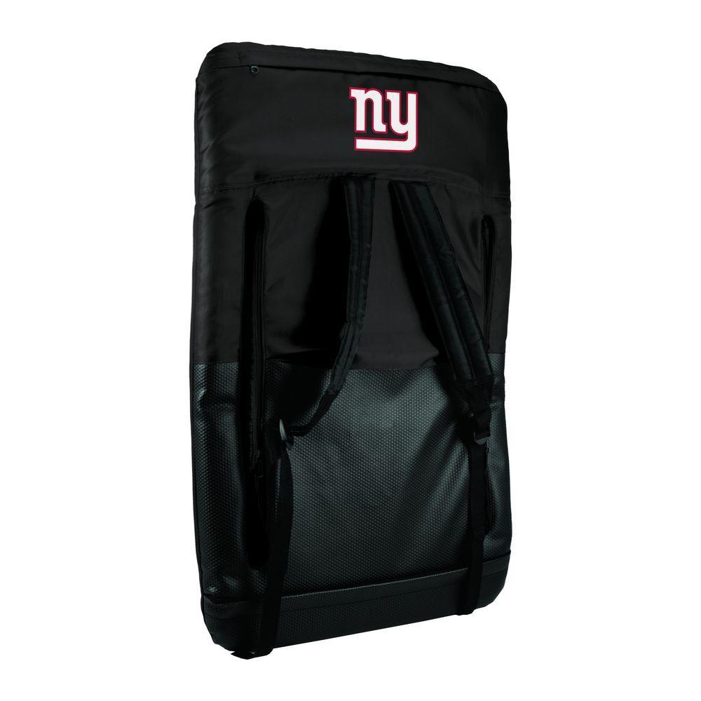 Ventura New York Giants Black Patio Sports Chair with Digital Logo