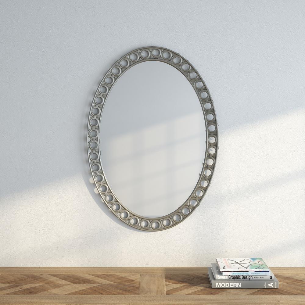 Sumner 34 in. x 24 in. Beveled Mirror