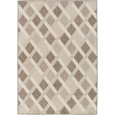 Masari Charcoal 7 Ft X 10 Indoor Outdoor Area Rug