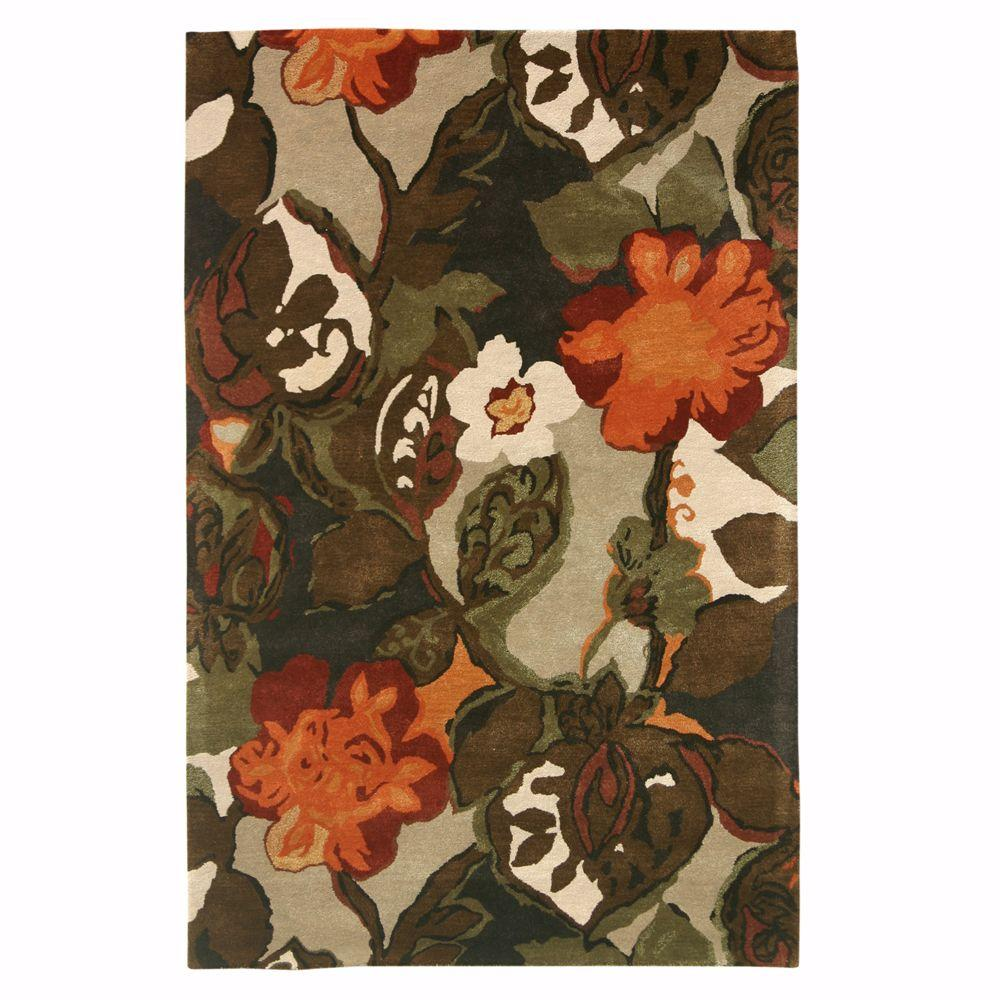 Home Decorators Collection Karolus Multi 2 Ft. 6 In. X 10