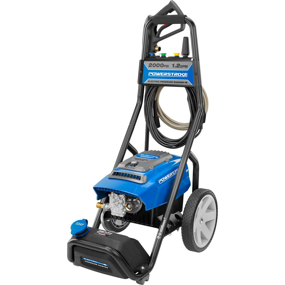 PowerStroke 2000 psi 1.2 GPM Electric Pressure Washer was $187.64 now $109.0 (42.0% off)