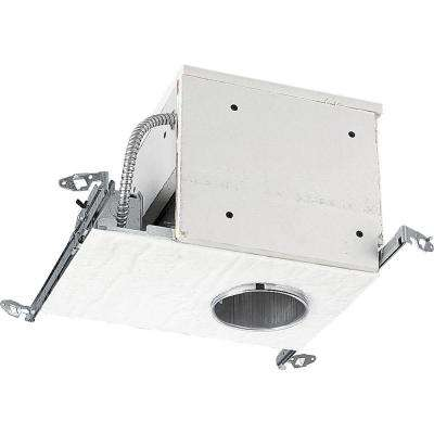 4 in. Metallic Firebox New Construction Recessed Housing