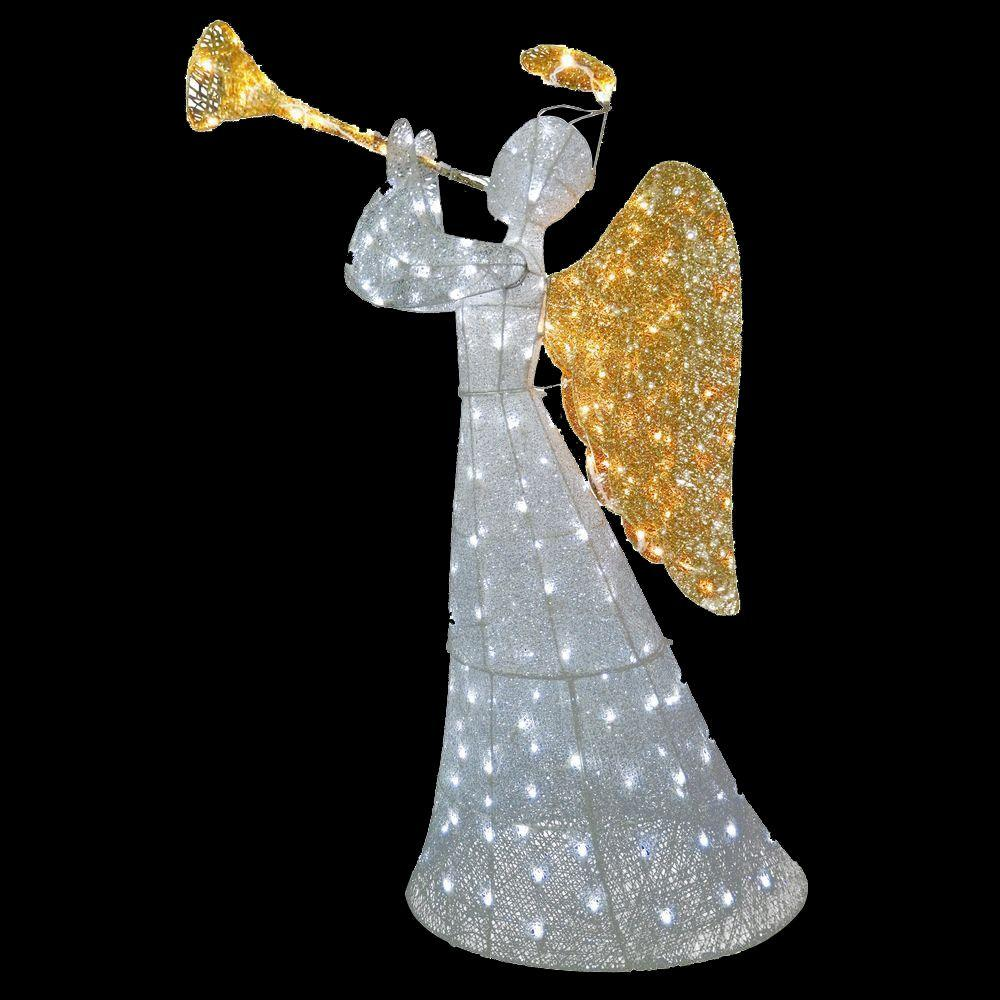 angel decoration with led lights - Christmas Angel Yard Decorations