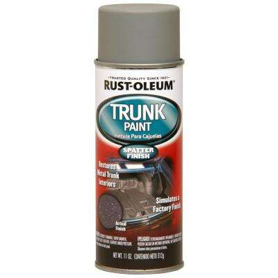 11 oz. Gray and White Splatter Metal Trunk Spray Paint (6-Pack)
