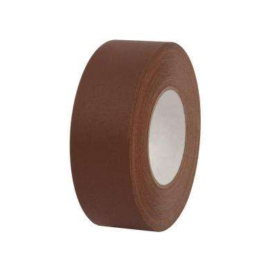 2 in. x 55 yds. Brown Gaffer Industrial Vinyl Cloth Tape (3-Pack)