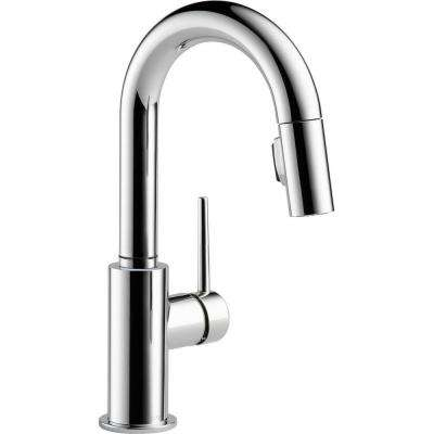 Trinsic Single-Handle Pull-Down Sprayer Bar Faucet in Chrome