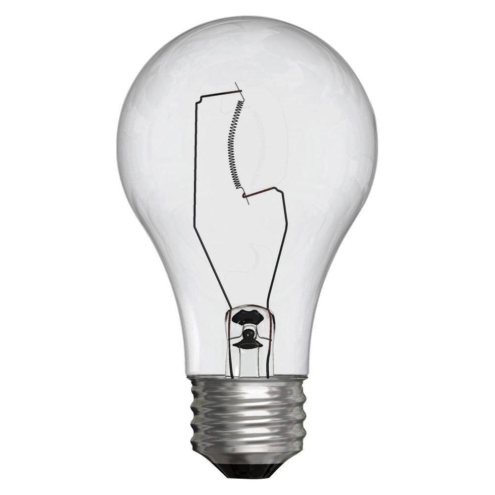 40 watt incandescent bulb ge 40 watt incandescent a19 clear light bulb 2 3907