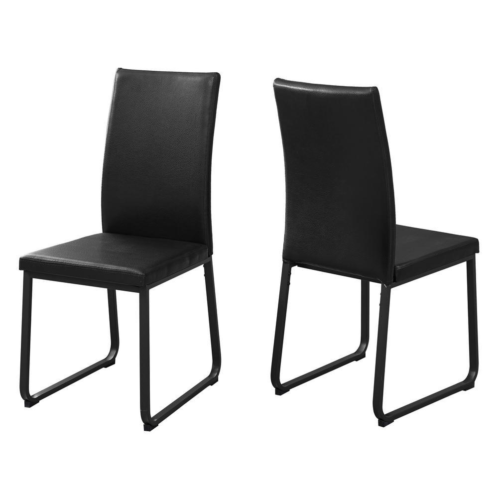 Black Dining Chair (2-Piece)
