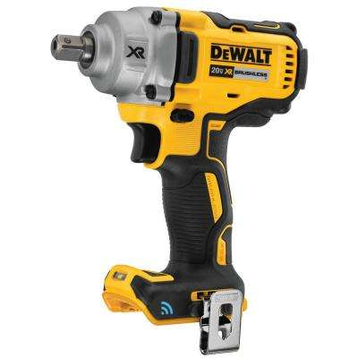 20-Volt MAX Cordless Brushless 1/2 in. Impact Wrench with Detent Pin Anvil and Tool Connect (Tool Only)