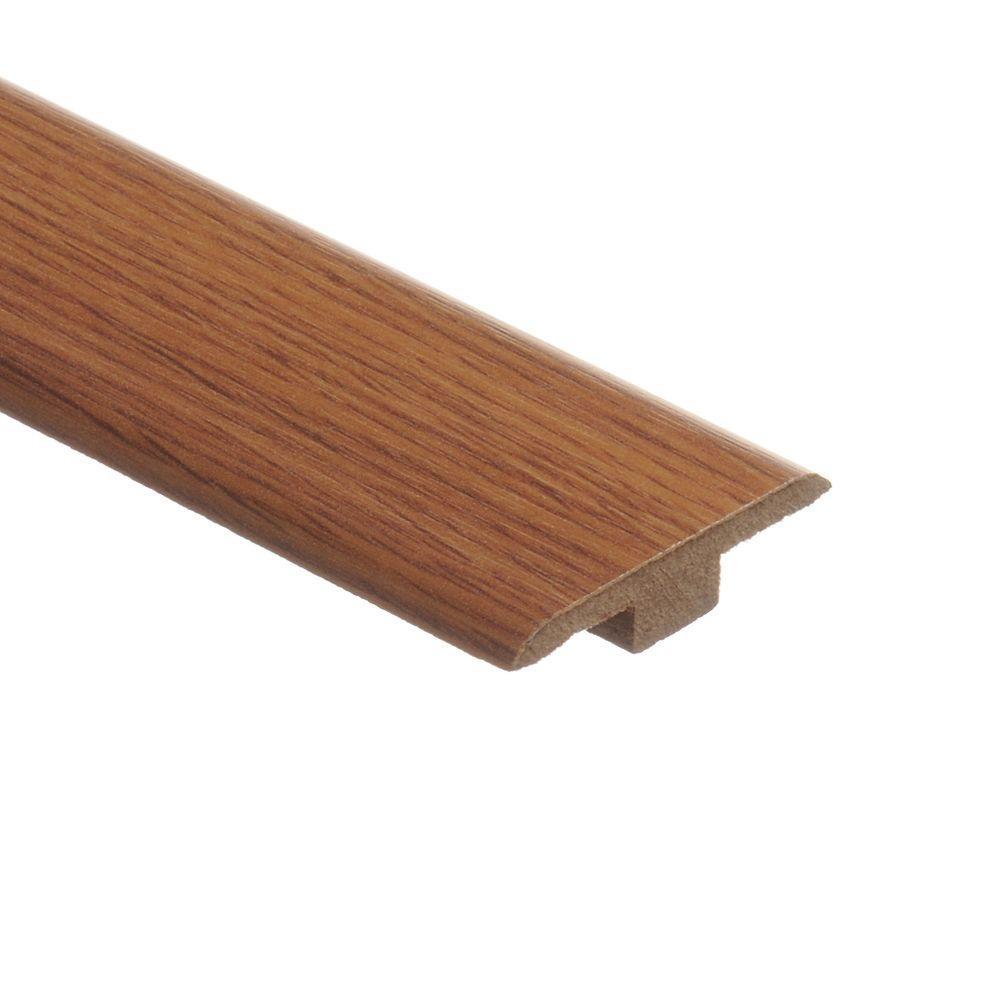 Zamma Saybrook Oak 7/16 in. Thick x 1-3/4 in. Wide x 72 in. Length Laminate T-Molding