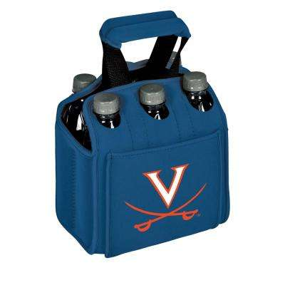University of Virginia Cavaliers 6-Bottles Blue Beverage Carrier