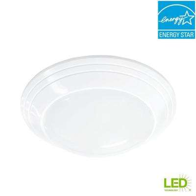 4/5/6 in./J-Box 12-Watt Dimmable White Integrated LED Energy Star Recessed Trim Disk Light with Color Changing CCT