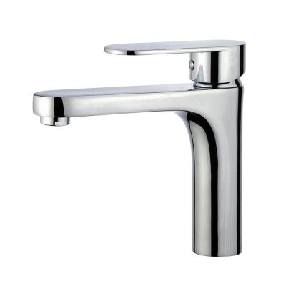 Donostia Single Hole Single-Handle Bathroom Faucet in Polished Chrome