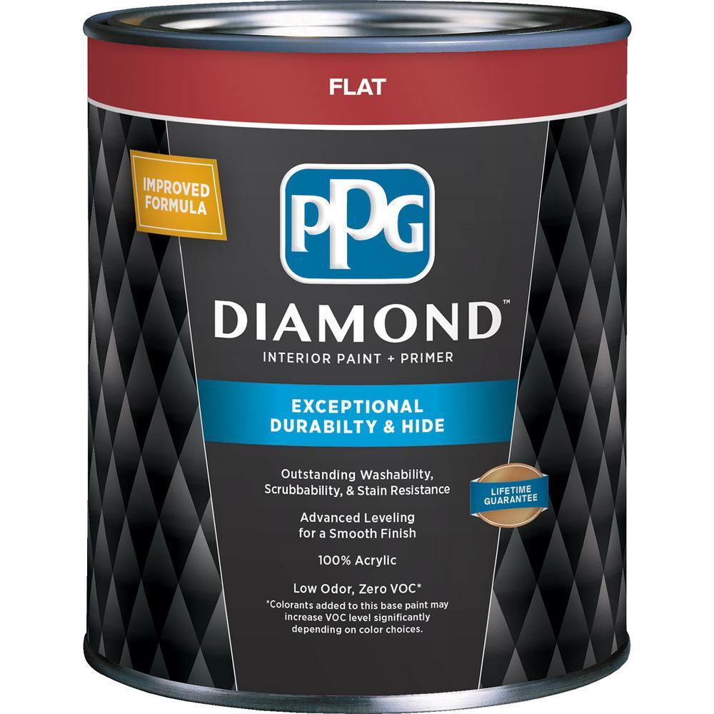White Diamond Truck Color Code: PPG Diamond 1 Qt. Pure White Base 1 Flat Interior Paint