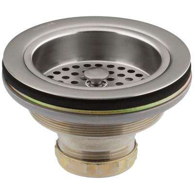 Duostrainer 4-1/2 in. Sink Strainer in Vibrant Stainless