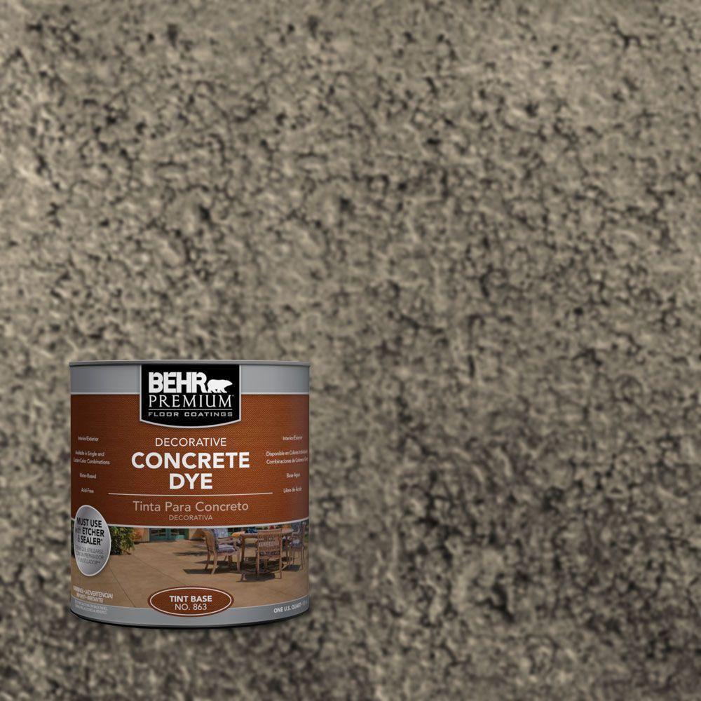 BEHR Premium 1 qt. #CD-835 Carob Concrete Dye