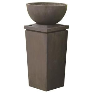 A & B Home Zen Bowl Outdoor Fountain by A & B Home
