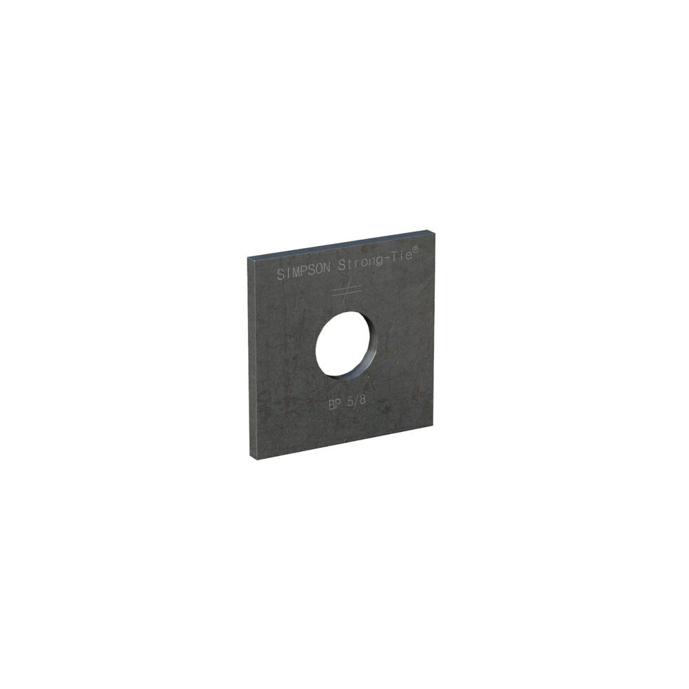 Simpson Strong-Tie BP 2-1/2 in. x 2-1/2 in. Bearing Plate with 5/8 in. Bolt Diameter