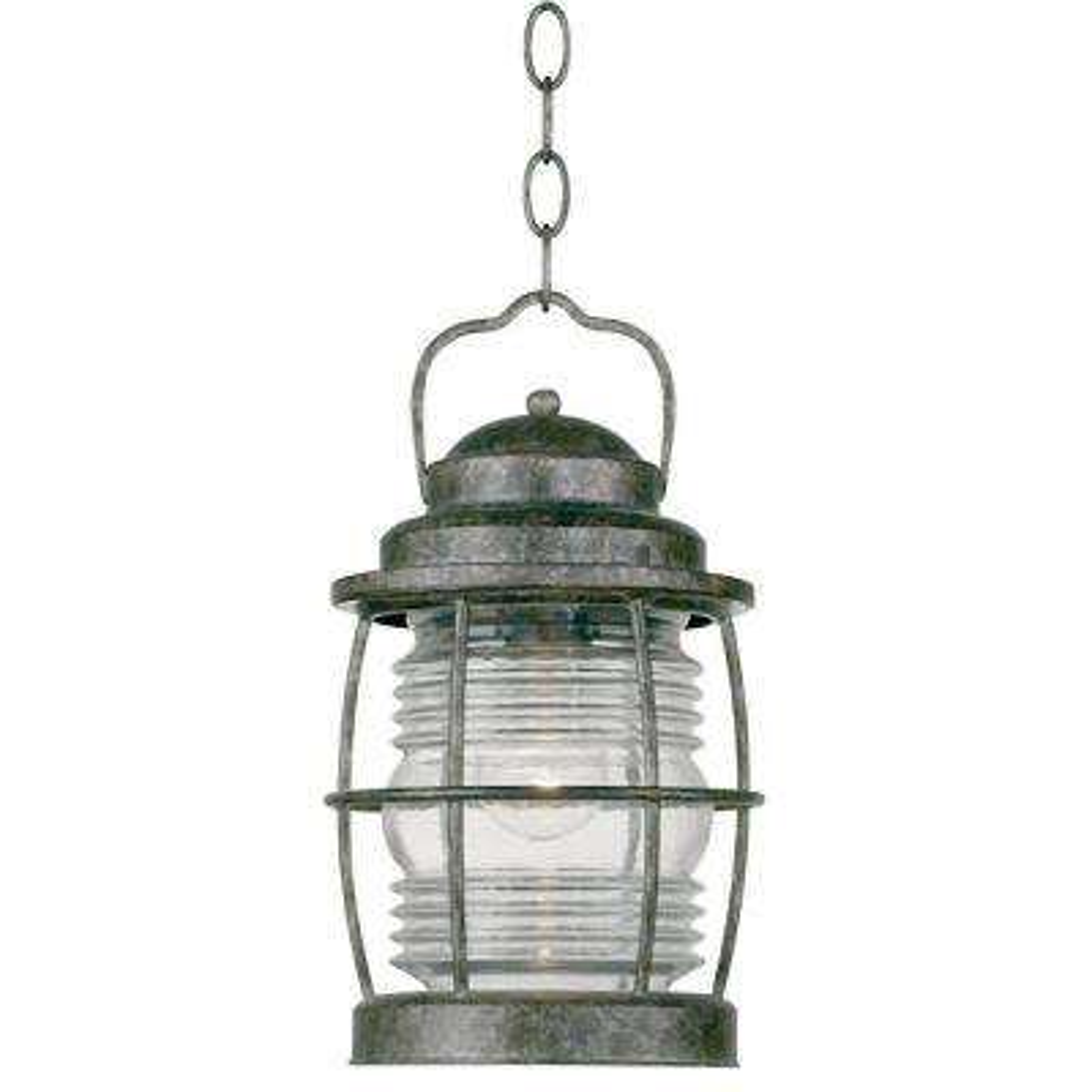 Beacon 1-Light Flint Incandescent Hanging Lantern