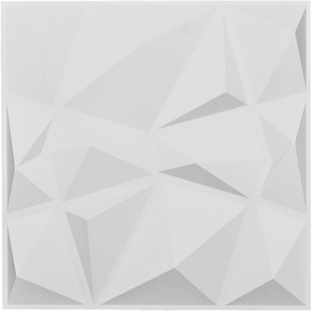 Unique Millwork Wall Covering And: Ekena Millwork 1 In. X 19-5/8 In. X 19-5/8 In. White PVC