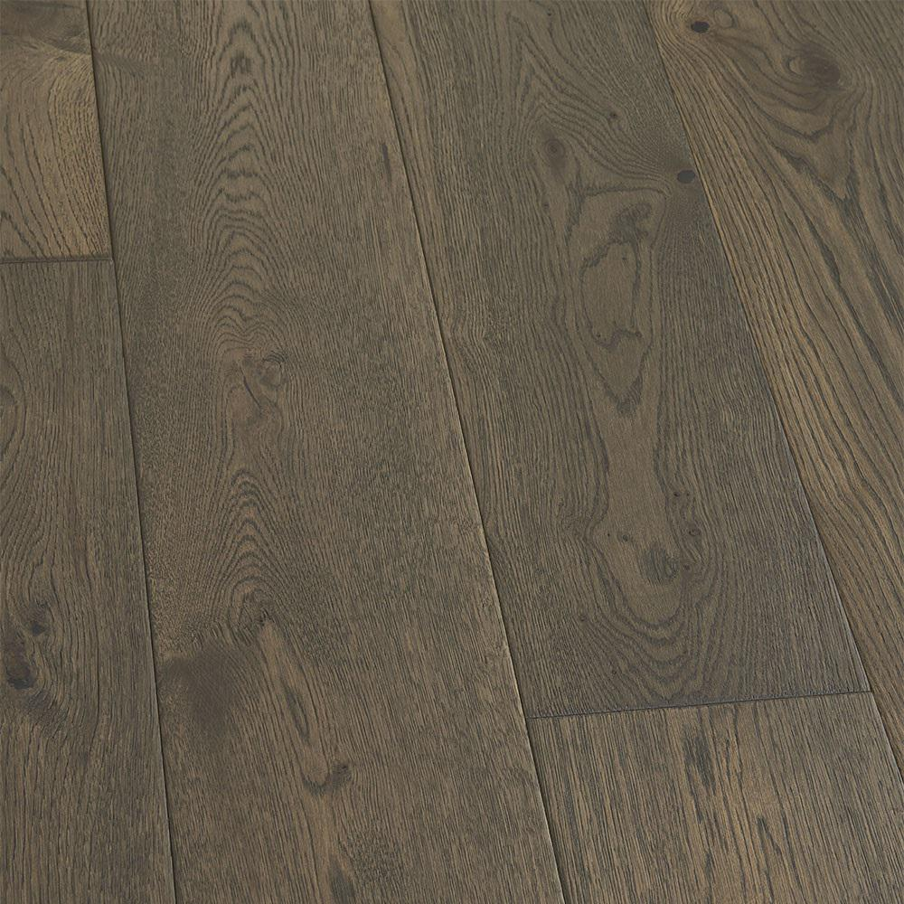 Malibu Wide Plank Take Home Sample French Oak Baker Engineered Click Hardwood Flooring 5 In. X 7 In.