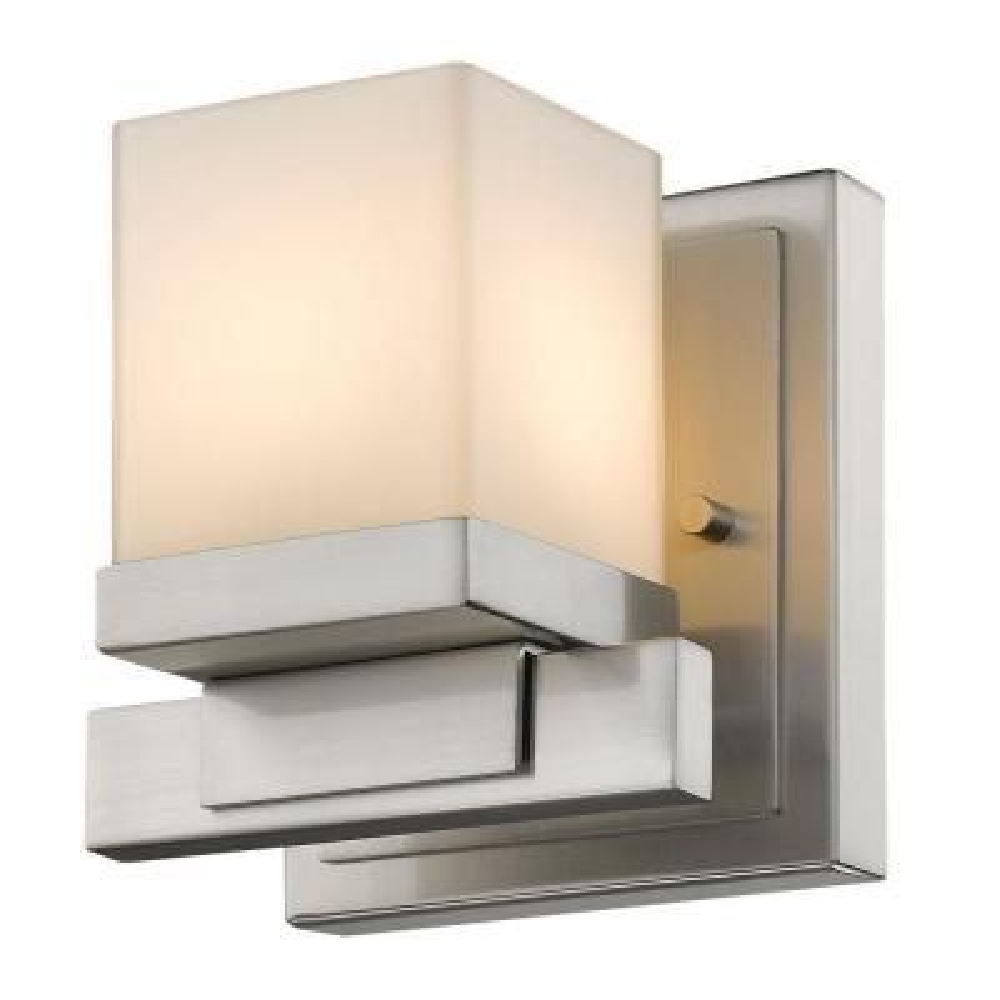 Mera 1-Light Brushed Nickel Sconce