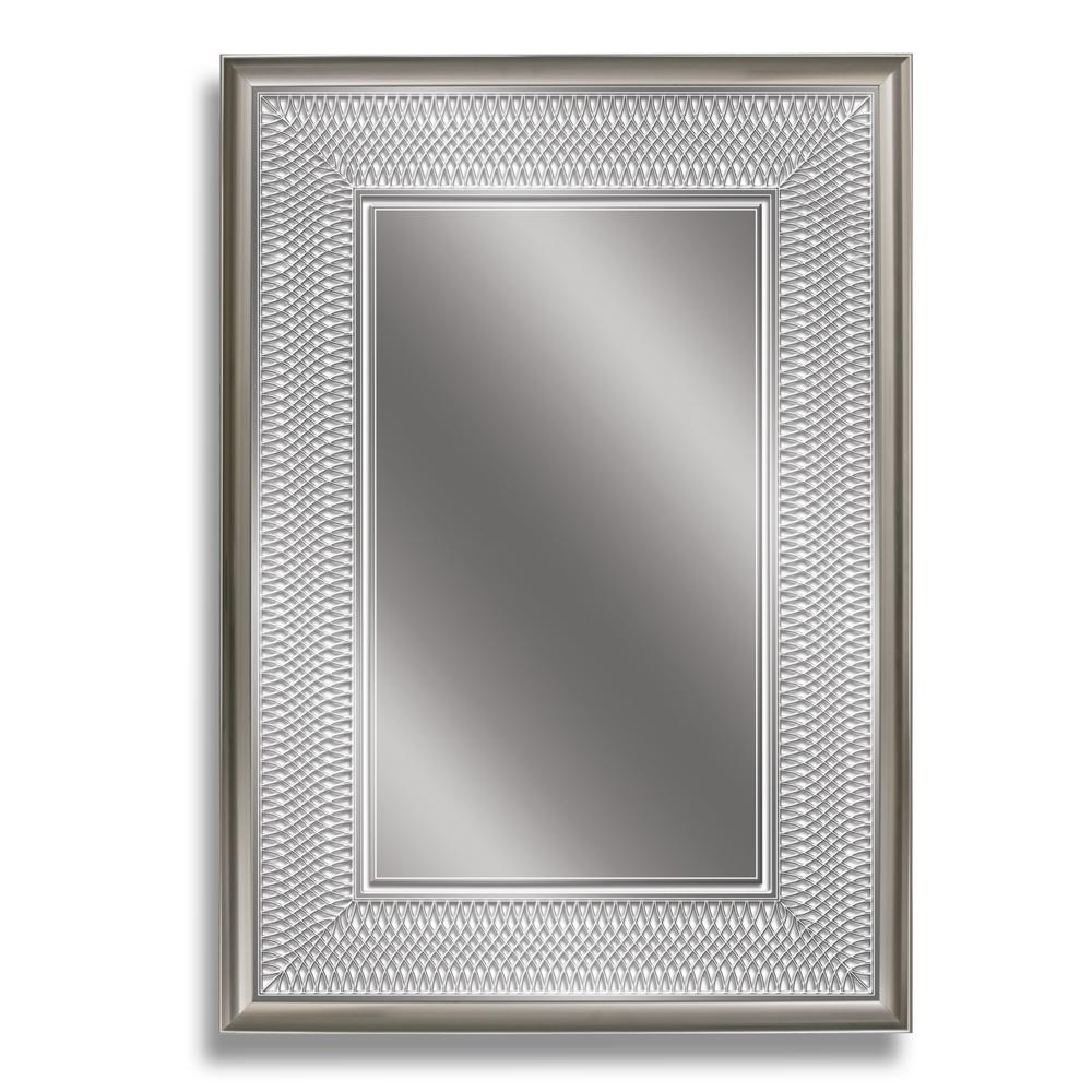 24 in. W x 34 in. H Silver Park Avenue Wall