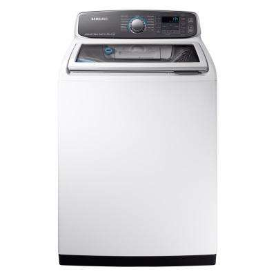 5.2 cu. ft. High-Efficiency Top Load Washer with Steam and Activewash in White, ENERGY STAR