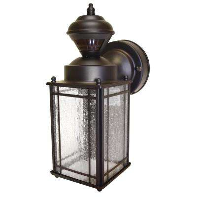 Shaker Cove Mission 150 Degree Outdoor Oiled Rubbed Bronze Motion-Sensing Lantern