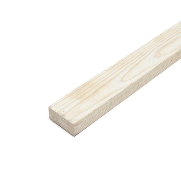 2 in. x 4 in. x 4 ft. Premium Ground Contact Pressure-Treated Lumber (3-Pack)