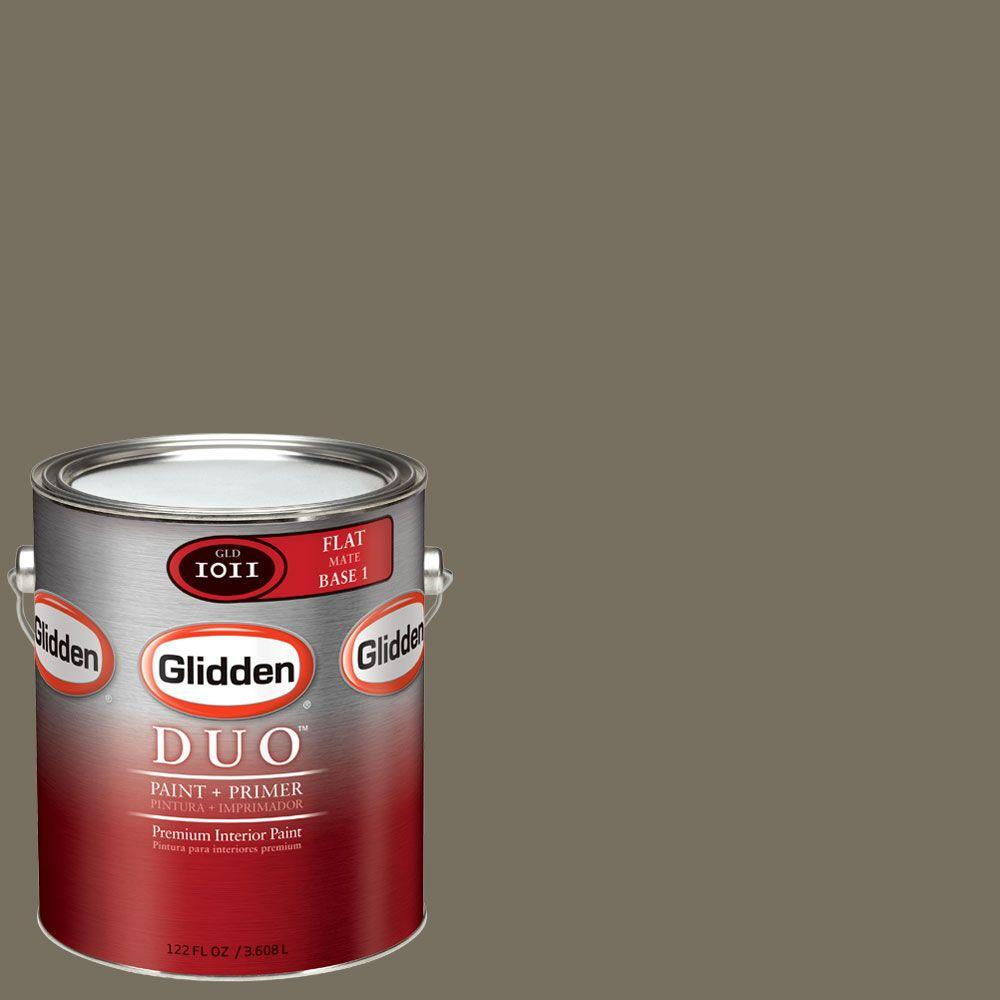 Glidden DUO Martha Stewart Living 1-gal. #MSL249-01F Crevecoeur Flat Interior Paint with Primer - DISCONTINUED