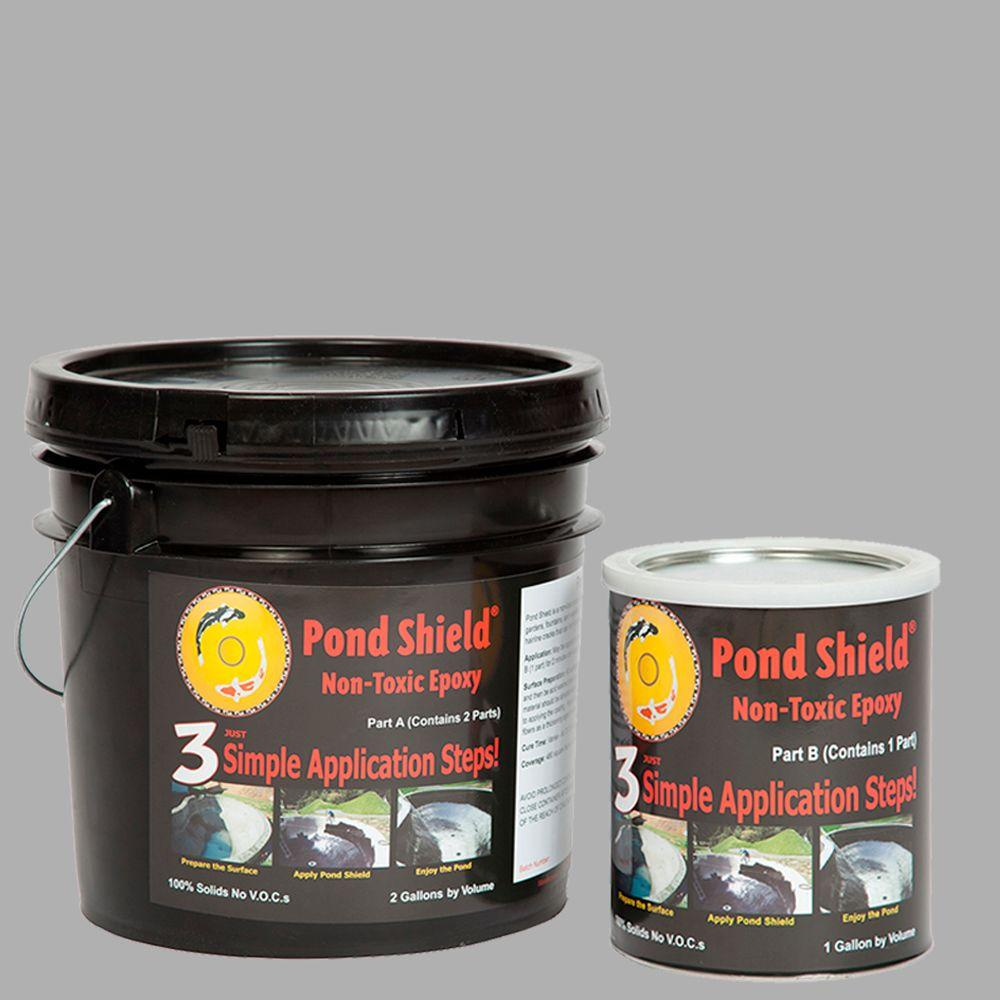 Southwest Synergistic Solutions Pond Shield 3-gal. Gray Non Toxic Epoxy