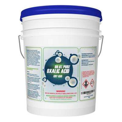 40 lbs. 99.6% Pure Oxalic Acid Powder Pail