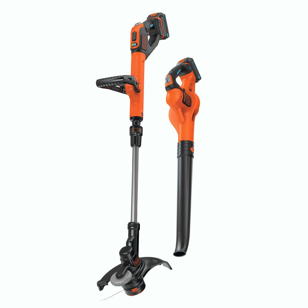 20-Volt Max Cordless Lithium Ion String Trimmer/Sweeper Combo Kit (2-Tool)