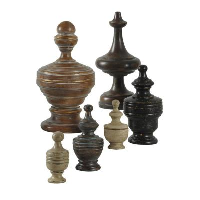 Chess Anyone Figurines Decorative Accessories Earth Tones 6-Piece Set