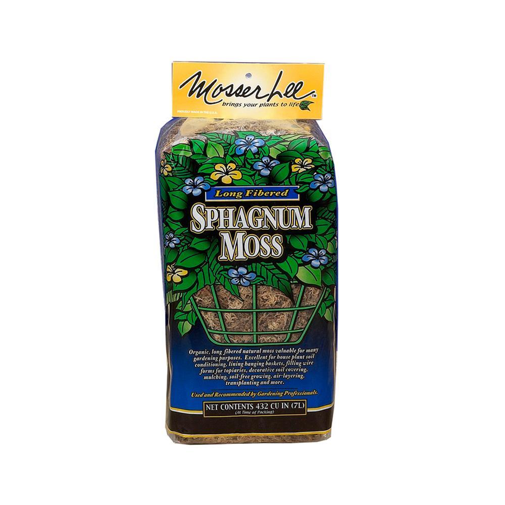 432 cu. in. Sphagnum Moss