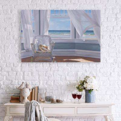 Gentle Reader Coastal Canvas Wall Art