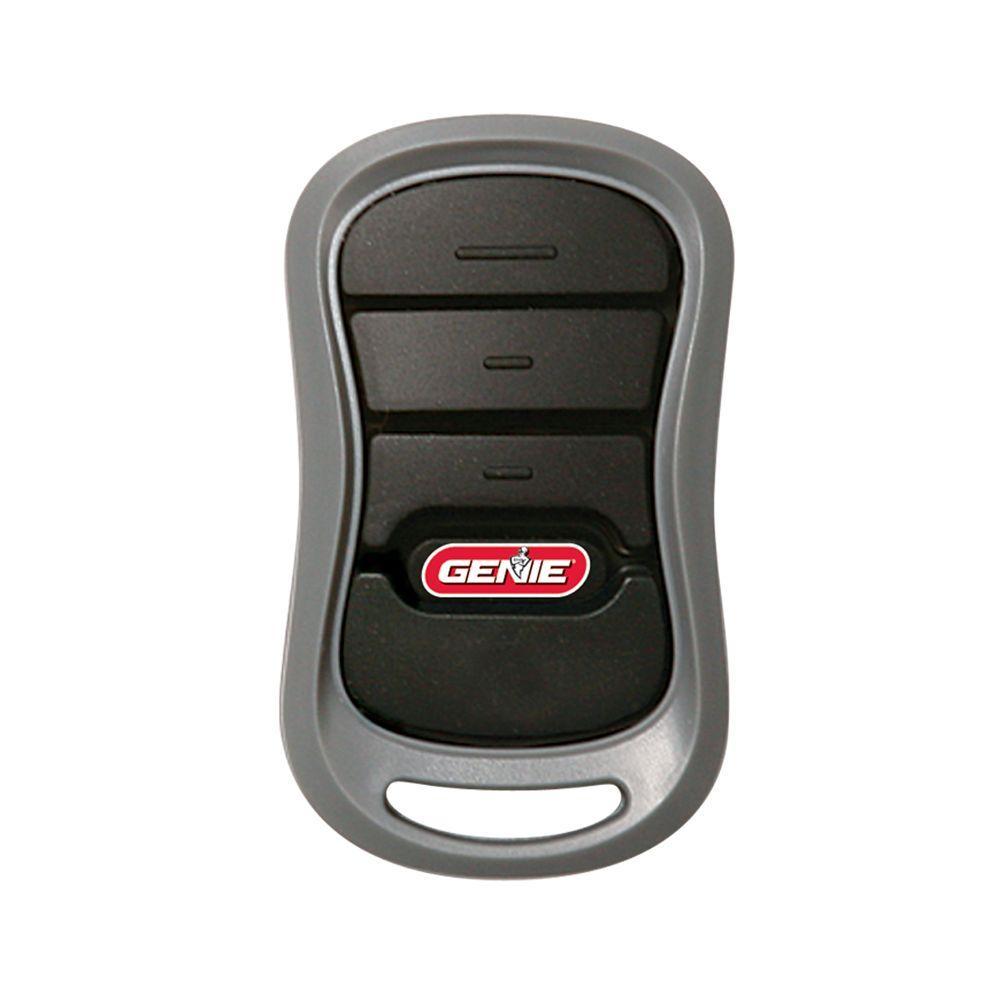 How To Set Garage Door Opener >> Genie Universal 4 Button Garage Door Opener Remote