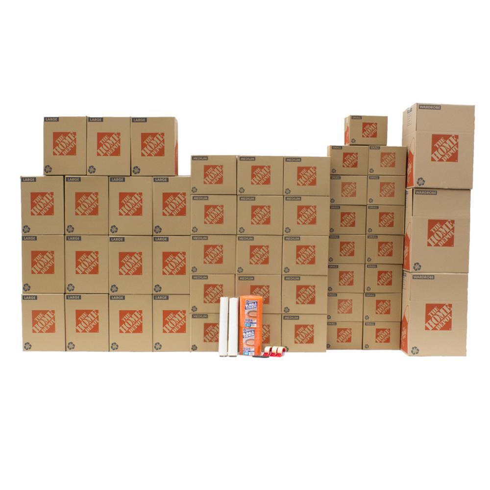 The Home Depot 48-Box Large Moving Box Kit