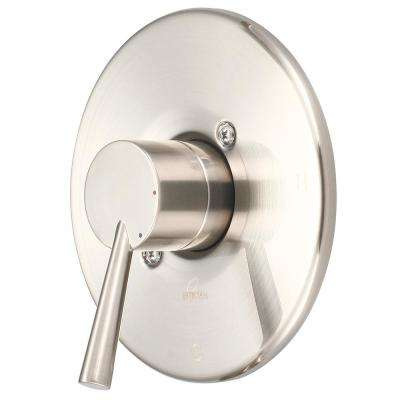 i2 1-Handle Wall Mount Valve Trim Kit in Brushed Nickel (Valve Not Included)
