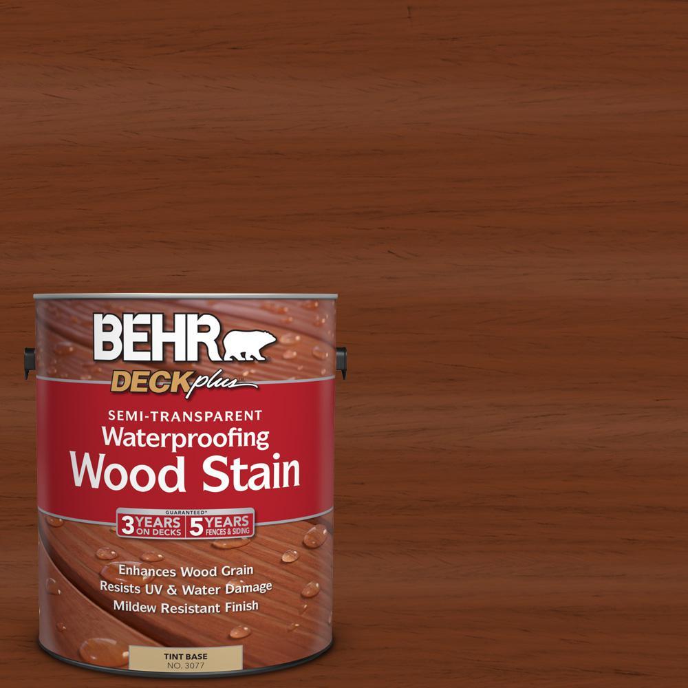 1 gal. #ST-116 Woodbridge Semi-Transparent Waterproofing Wood Stain