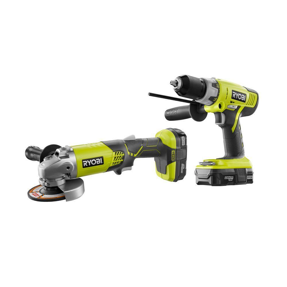 Ryobi Cordless Hammer Drill Home Depot