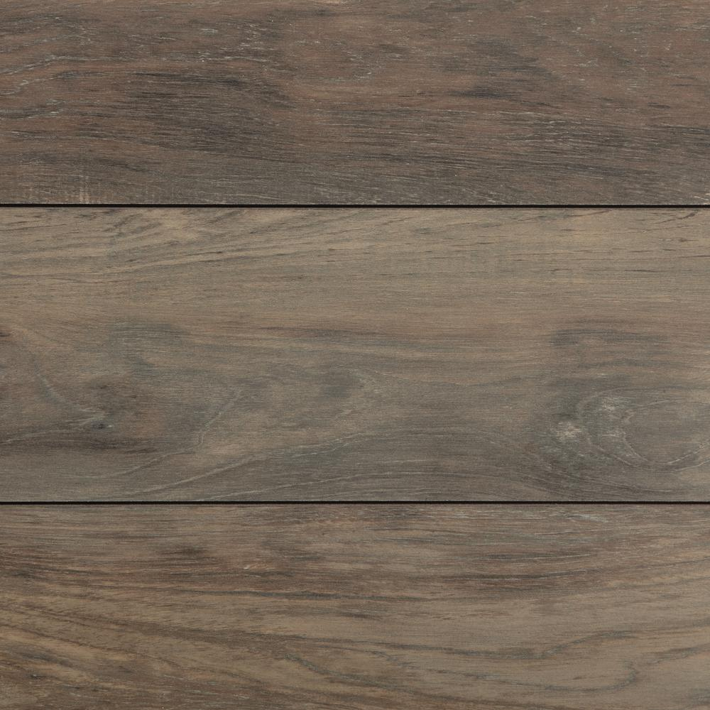 Home Decorators Collection Carmel Coast Teak New 12 Mm Thick X 7 19 32 In Wide X 50 25 32 In