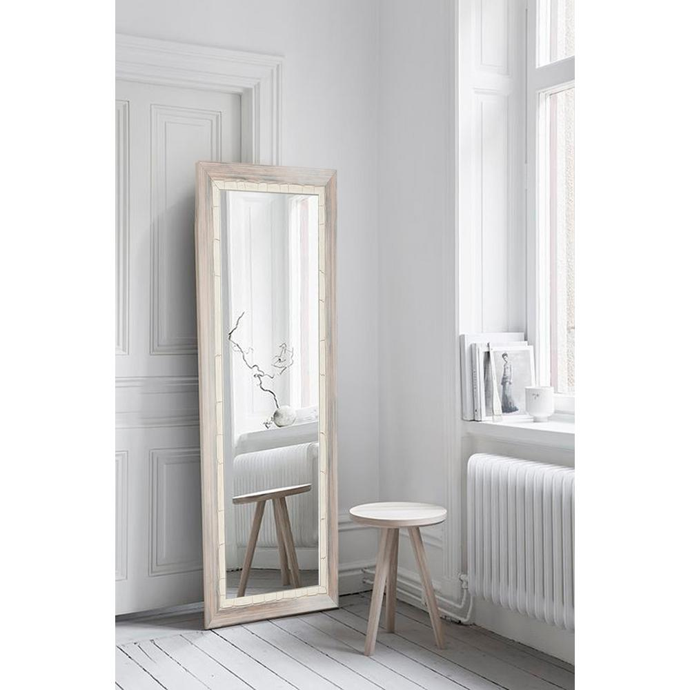 Brandtworks Weathered Beach Full Length Wall Mirror Bm23thin The Home Depot