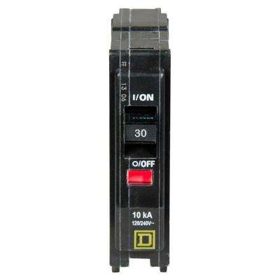 QO 30 Amp Single-Pole Circuit Breaker