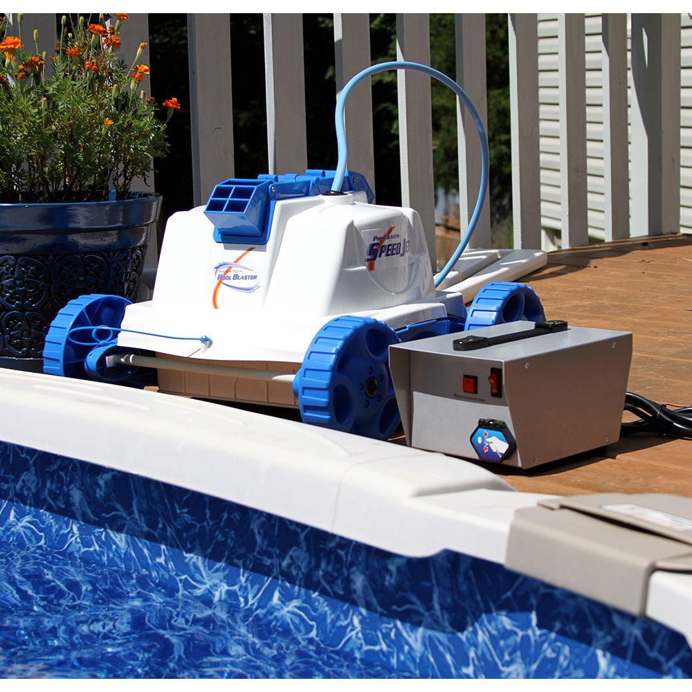 Water Tech Speed Jet Robotic Pool Cleaner for Above Ground Pools